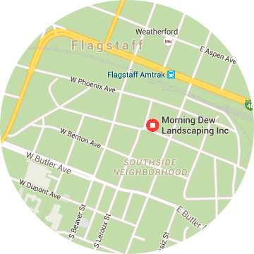 Google Map of Morning Dew Landscaping's HQ